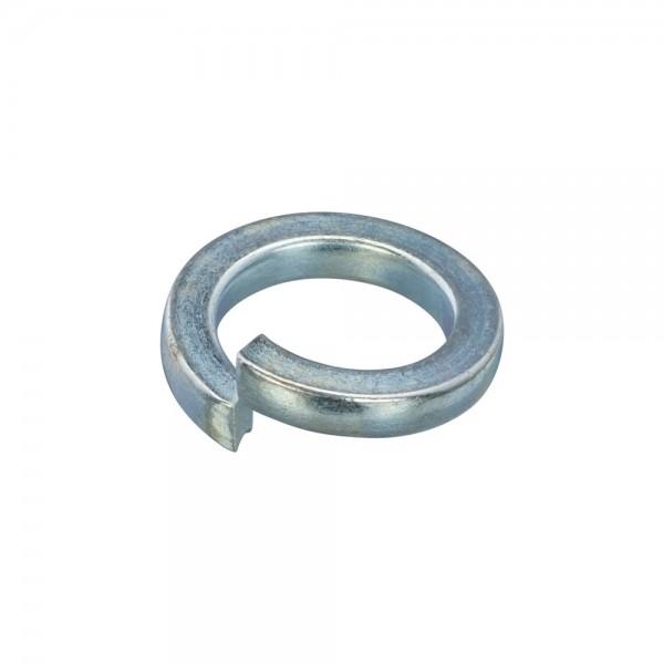 080450 Hoenderdaal Veerring staal verzinkt DIN127-B m4(4.1x7.6x0.9) Hoenderdaal