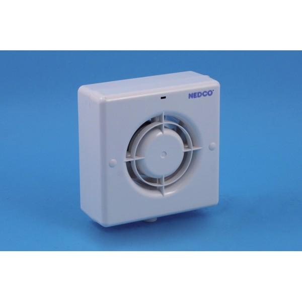 Badkamer/toiletventilator ø100mm cr 100 vt Nedco
