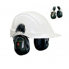 Gehoorkap optime ii h520p3e - inc. adapters voor helm met 30 mm sleuf,
