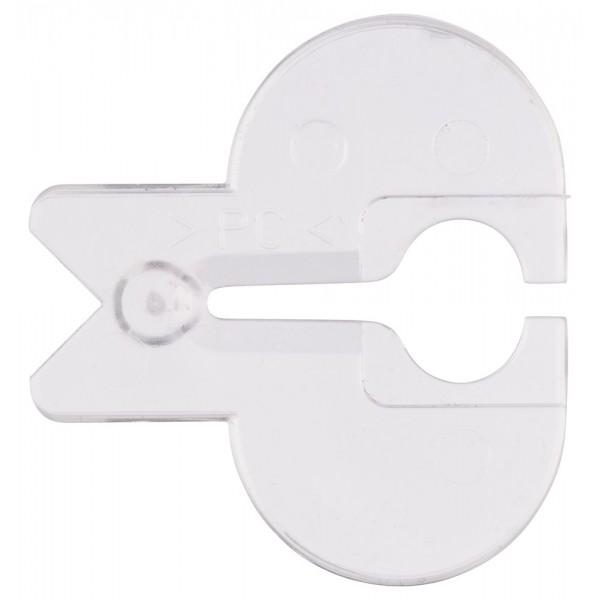 Antisplinterplaatje 5st Bosch